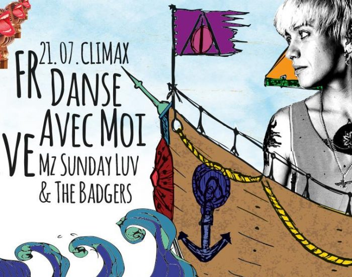 Danse avec moi The Badgers Live feat Mz Sunday Luv